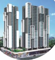 497 sq ft 2 BHK + 2T Apartment in Chandak Group Nishchay Wing E