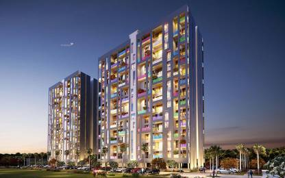 700 sqft, 2 bhk Apartment in Oxford Florida River Walk Phase 1 Mundhwa, Pune at Rs. 70.0010 Lacs