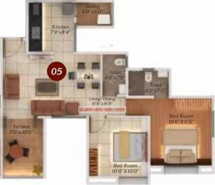 1008 sqft, 2 bhk Apartment in Legacy Twin Arcs  Tathawade, Pune at Rs. 51.0000 Lacs