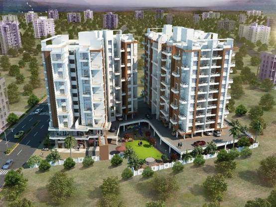 1164 sqft, 3 bhk Apartment in Builder vision Indramegh Punawale Pune Punawale, Pune at Rs. 67.0000 Lacs