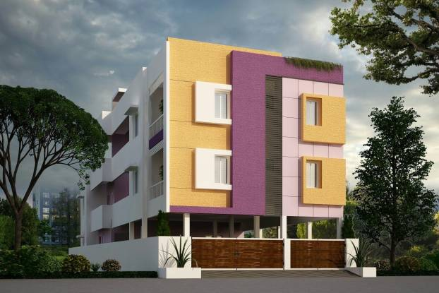 1012 sqft, 2 bhk Apartment in Builder Project Madambakkam, Chennai at Rs. 39.4680 Lacs