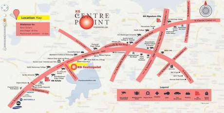 1295 sqft, 3 bhk Apartment in KG Centre Point Mevalurkuppam, Chennai at Rs. 36.2471 Lacs