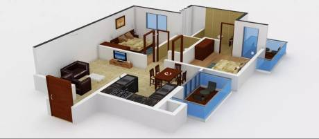 1427 sqft, 2 bhk Apartment in Alpha Gurgaon One 84 Sector 84, Gurgaon at Rs. 73.0000 Lacs