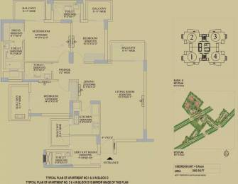 2092 sqft, 3 bhk Apartment in DLF The Primus Sector 82A, Gurgaon at Rs. 1.5700 Cr
