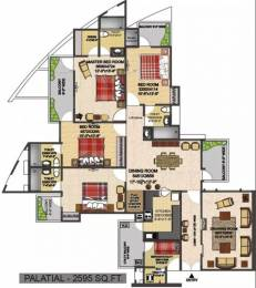 2595 sqft, 4 bhk Apartment in The Antriksh Heights Sector 84, Gurgaon at Rs. 13000