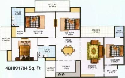 1784 sqft, 4 bhk Apartment in KBNOWS Apartments Sector 16 Noida Extension, Greater Noida at Rs. 66.0000 Lacs