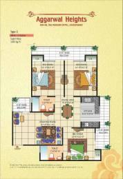 1425 sqft, 3 bhk Apartment in Vasu Aggarwal Heights Raj Nagar Extension, Ghaziabad at Rs. 38.5000 Lacs