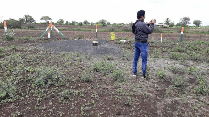 1000 sqft, Plot in Builder Project KaregaonKarde Road, Pune at Rs. 1.5000 Lacs