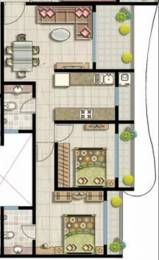 927 sqft, 2 bhk Apartment in SK Imperial Heights Mira Road East, Mumbai at Rs. 64.8900 Lacs