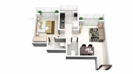 670 sqft, 1 bhk Apartment in Prithvi Prithvi Pride Mira Road East, Mumbai at Rs. 47.6640 Lacs