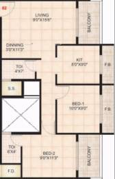 1065 sqft, 2 bhk Apartment in Dweepmala Prathamesh Home Taloja, Mumbai at Rs. 50.0550 Lacs