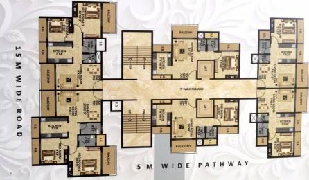 1050 sqft, 2 bhk Apartment in Dweepmala Baline Royale Taloja, Mumbai at Rs. 52.5000 Lacs