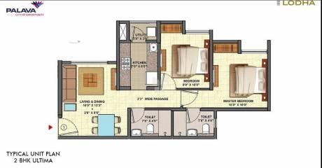 500 sqft, 1 bhk Apartment in Lodha Upper Thane Anjurdive, Mumbai at Rs. 49.0000 Lacs