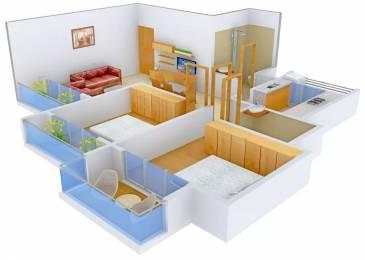 1240 sqft, 2 bhk Apartment in Paradise Sai Jewels Kharghar, Mumbai at Rs. 97.0000 Lacs