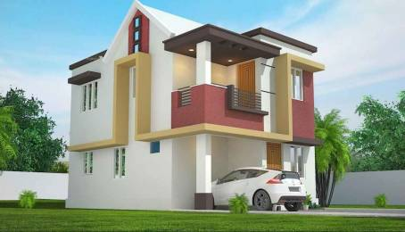 1100 sqft, 3 bhk Villa in Builder pavithram villa Pudussery Central, Palakkad at Rs. 25.0000 Lacs