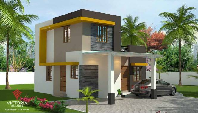 1115 sqft, 2 bhk IndependentHouse in Builder pavithram Pudussery Central, Palakkad at Rs. 25.0000 Lacs