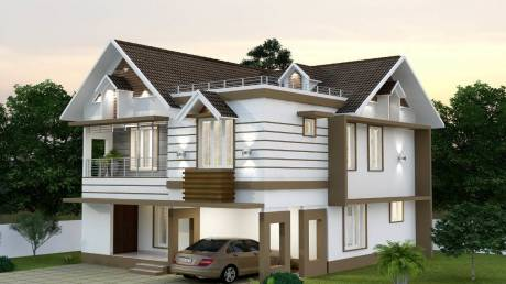 2104 sqft, 4 bhk IndependentHouse in Builder Victoria vrinthavan Kuttur, Thrissur at Rs. 70.0000 Lacs