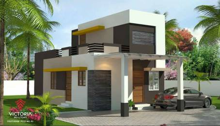 1100 sqft, 2 bhk Villa in Builder pavithram Pudussery Central, Palakkad at Rs. 25.0000 Lacs