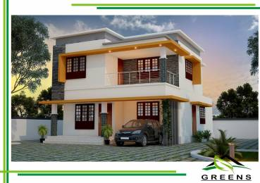 2025 sqft, 4 bhk IndependentHouse in Builder The Greens Ottapalam, Palakkad at Rs. 52.0000 Lacs