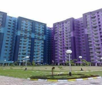 1405 sqft, 3 bhk Apartment in NBCC Vibgyor Towers New Town, Kolkata at Rs. 77.0000 Lacs