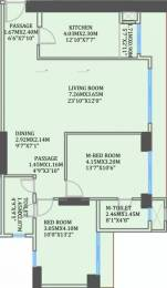 1215 sqft, 2 bhk Apartment in CCI Rivali Park Wintergreen Borivali East, Mumbai at Rs. 42000