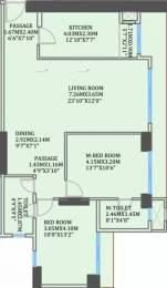 1215 sqft, 2 bhk Apartment in CCI Rivali Park Wintergreen Borivali East, Mumbai at Rs. 34000