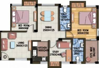 1122 sqft, 2 bhk Apartment in Riya Manbhari Ananya Sonarpur, Kolkata at Rs. 29.1460 Lacs