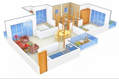 1304 sqft, 2 bhk Apartment in SRS SRS Residency Sector 88, Faridabad at Rs. 37.5700 Lacs