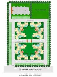 1130 sqft, 2 bhk Apartment in Shiv Park 1 Apartments Sector 87, Faridabad at Rs. 37.0000 Lacs