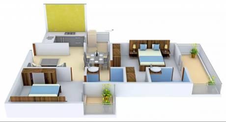 1065 sqft, 2 bhk Apartment in Star Realcon Group Rameshwaram Raj Nagar Extension, Ghaziabad at Rs. 27.6900 Lacs