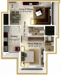 735 sqft, 1 bhk Apartment in Kaustubh Rajendra Nagar Shree Ganesh Chs Ltd Borivali East, Mumbai at Rs. 1.1000 Cr