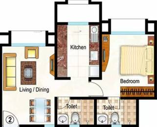 640 sqft, 1 bhk Apartment in Hiranandani Heritage Kandivali West, Mumbai at Rs. 1.4000 Cr