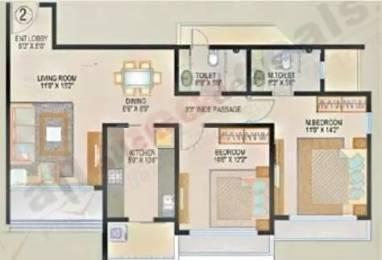 1120 sqft, 2 bhk Apartment in Lokhandwala Spring Grove Kandivali East, Mumbai at Rs. 1.6400 Cr