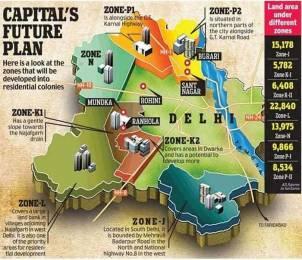 2350 sqft, 4 bhk Apartment in Builder Project Zone L Dwarka, Delhi at Rs. 78.0000 Lacs