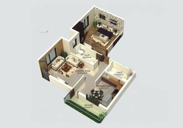 450 sqft, 1 bhk Apartment in Builder delhi awas yojna Sector 23 Dwarka, Delhi at Rs. 17.7700 Lacs