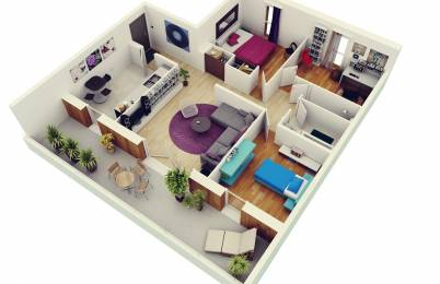 1800 sqft, 3 bhk Apartment in Builder Project Kapaleeswarar Nagar, Chennai at Rs. 34000