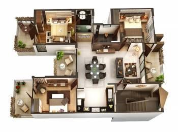 2300 sqft, 3 bhk Apartment in Builder Project Singaravelan Salai Road, Chennai at Rs. 45000