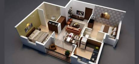 1300 sqft, 2 bhk Apartment in Builder Project Kapaleeswarar Nagar, Chennai at Rs. 24500