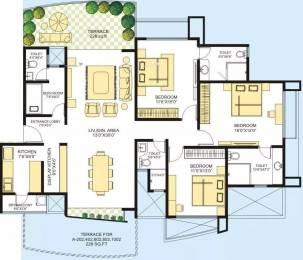 1940 sqft, 3 bhk Apartment in Marvel Azure Hadapsar, Pune at Rs. 80000
