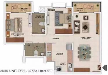1009 sqft, 2 bhk Apartment in Salarpuria Sattva Park Cubix Devanahalli, Bangalore at Rs. 50.0000 Lacs