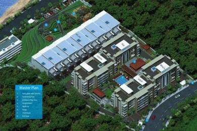 2385 sqft, 3 bhk Apartment in Salarpuria Sattva Waters Edge Dabolim, Goa at Rs. 1.2300 Cr