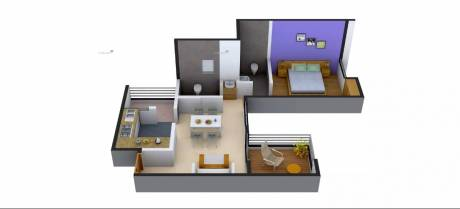 678 sqft, 1 bhk Apartment in Rainbow Grace Wagholi, Pune at Rs. 33.0000 Lacs