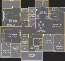 1560 sqft, 3 bhk Apartment in Yash Elina Kothrud, Pune at Rs. 2.7500 Cr