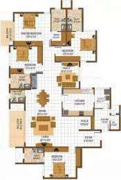 2891 sqft, 4 bhk Apartment in Prestige South Ridge Banashankari, Bangalore at Rs. 50000
