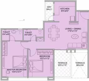 1003 sqft, 2 bhk Apartment in Kohinoor Tinsel Town Hinjewadi, Pune at Rs. 62.0000 Lacs