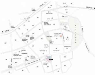 2279 sqft, 3 bhk Apartment in Pioneer Presidia Sector 62, Gurgaon at Rs. 2.1651 Cr