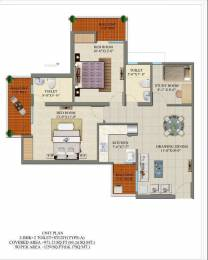 1250 sqft, 2 bhk Apartment in Charms Castle Raj Nagar Extension, Ghaziabad at Rs. 38.0000 Lacs