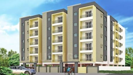1405 sqft, 3 bhk Apartment in Builder Sjr residency Panathur Panathur, Bangalore at Rs. 51.8650 Lacs