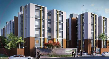422 sqft, 1 bhk Apartment in Magnolia Srijana Barasat, Kolkata at Rs. 8.4400 Lacs