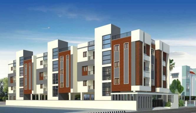 1270 sqft, 3 bhk Apartment in Venus Marvel Kilpauk, Chennai at Rs. 1.2417 Cr